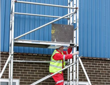 CSCS Mobile Alloy Tower Scaffold