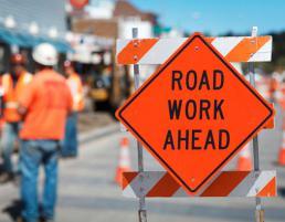 CSCS Sign Lighting & Guarding at Roadworks